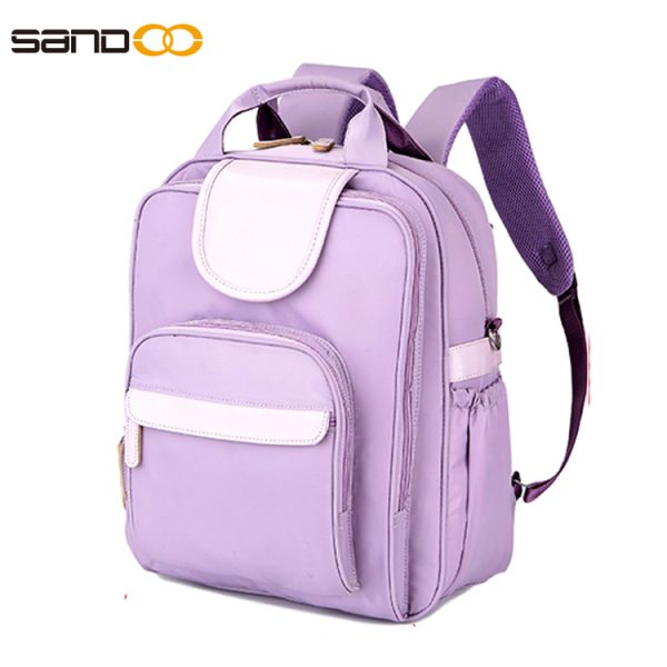 Fashion Waterproof Outdoor Nylon Diaper Backpack