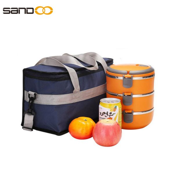 Insulated cooler Bag With Adjustable Strap