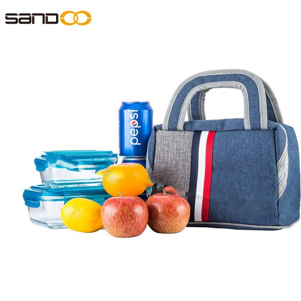 Reusable Insulated Lunch Bag for Unisex