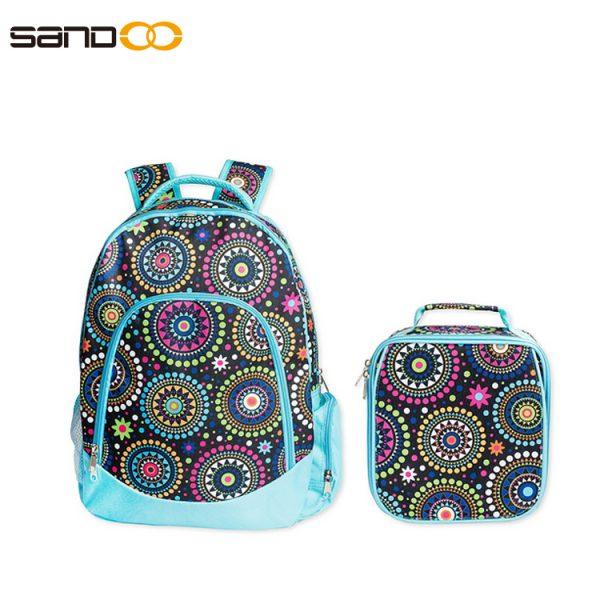 Wholesale Waterproof School Bag 2 pieces Set For Girl
