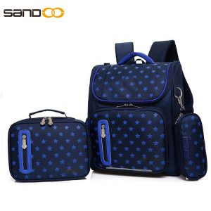 Ergonomic Design Waterproof 3pcs School Bag Set
