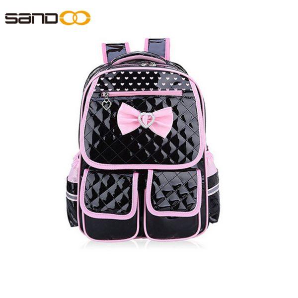 Custom School Backpack made form PU leather