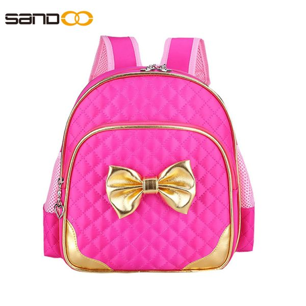 Cute Design School Backpack For Little Girl