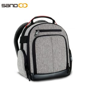 Water Resistant Camera Backpack For Men