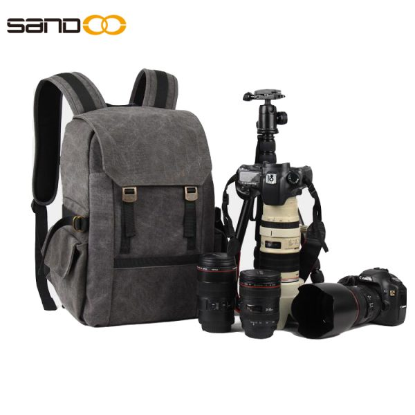 Professional Water Repellent Outdoor Camera Backpack
