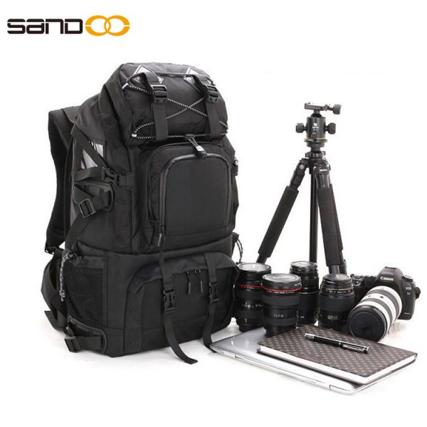 High quality Dslr Camera Backpack Made from Outdoor 1680D Nylon