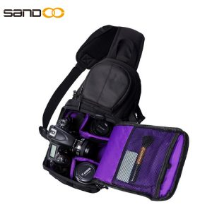 Wholesale Dslr Camera Bag With Padded Cross body Strap