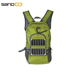 Waterproof Foldable 35L Solar Backpack For Travel