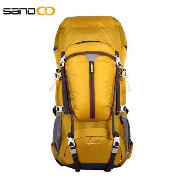 Ergonomic Design 50L Hiking Bag For Unisex