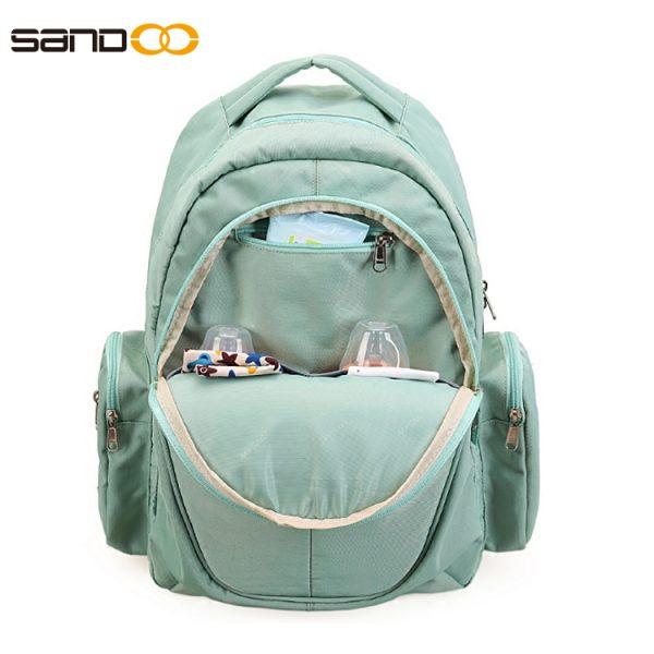 Portable Fashion Waterproof Baby Diaper Bag