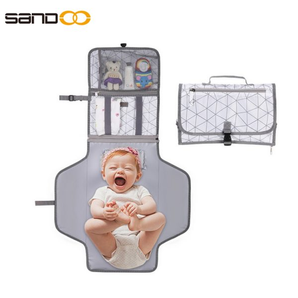 China Factory Custom Portable Padded Baby Changing Mat