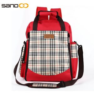 Wholesale Multi-pocket Fashion Diaper Backpack