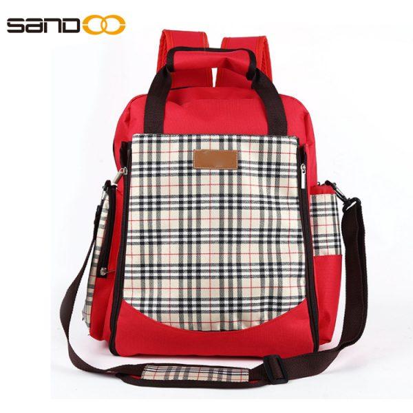 Wholesale Multi-pocket Fashion Diaper Backpack