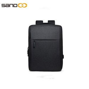 Fashion design waterproof laptop backpack with USB charging