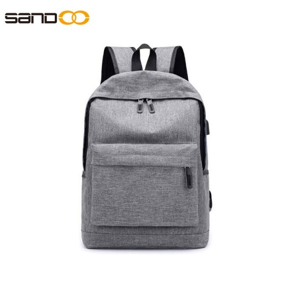 school backpack with laptop compartment and USB port