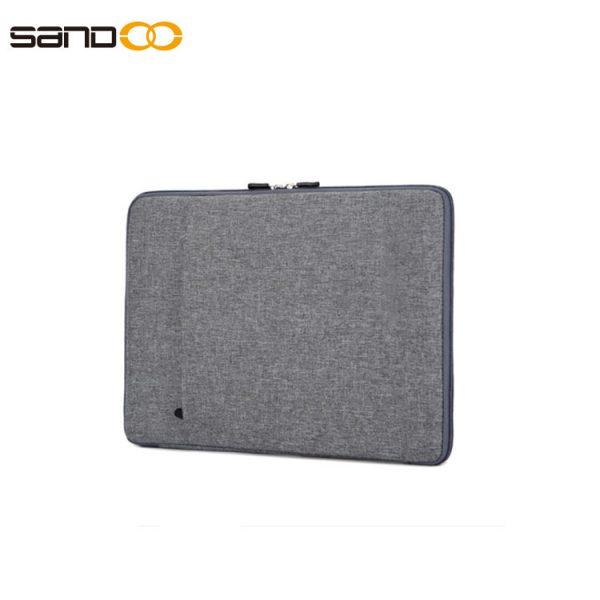 durable nylon laptop sleeve, fits 14.1-inch laptop