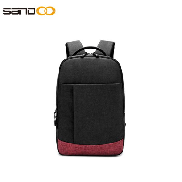 Waterproof laptop backpack for unisex, ideal for 15.6-inch laptops