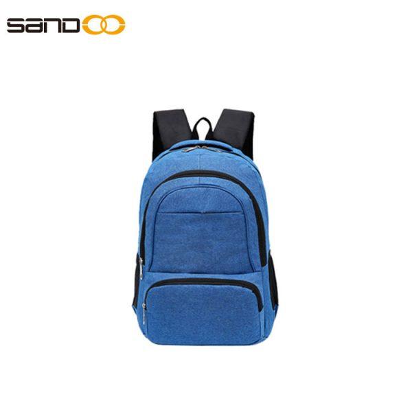 Wholesale leisure laptop backpack for men