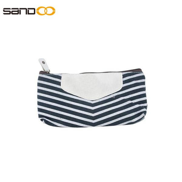 New design canvas pencil pouch for unisex