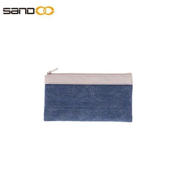 Wholesale pencil pouch bag made form canvas