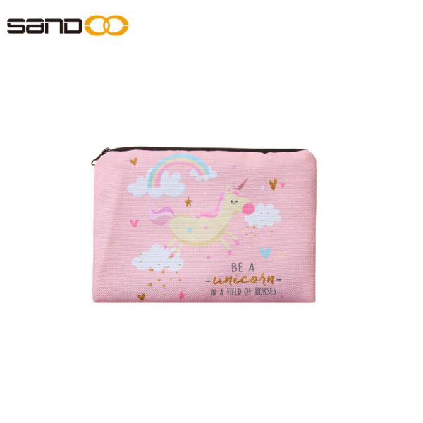 Cute cartoon design pencil bag for kids