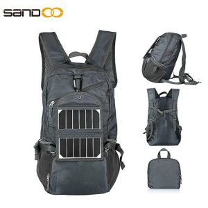 Wholesale Portable Outdoor Solar Backpack
