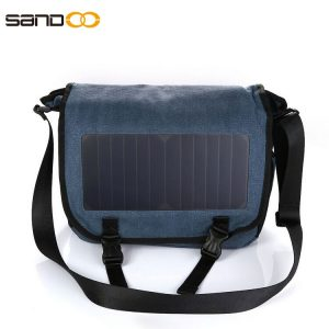 Latest Design Canvas Solar Bag For Unisex