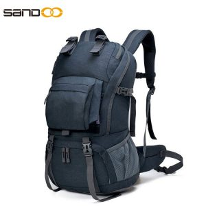 Waterproof 40L Hiking Backpack With Rain Cover