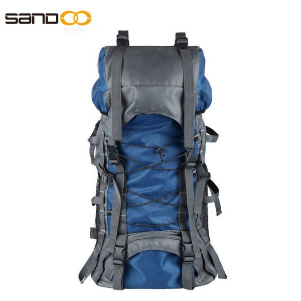 Outdoor Waterproof 60L Hiking Backpack For Unisex