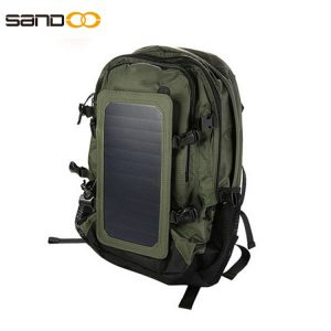 Wholesale Waterproof Nylon Solar Backpack