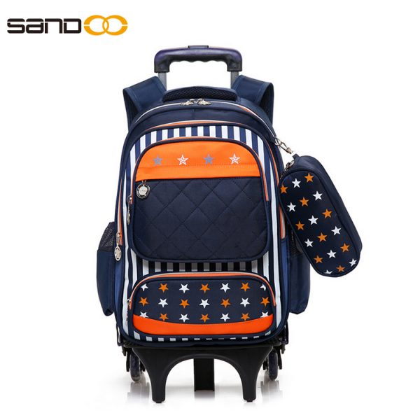 Wholesale Durable Trolley School Bag For Boys