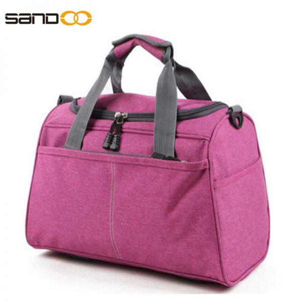 Waterproof short trip travel bag, luggage travel bag with cross -belt