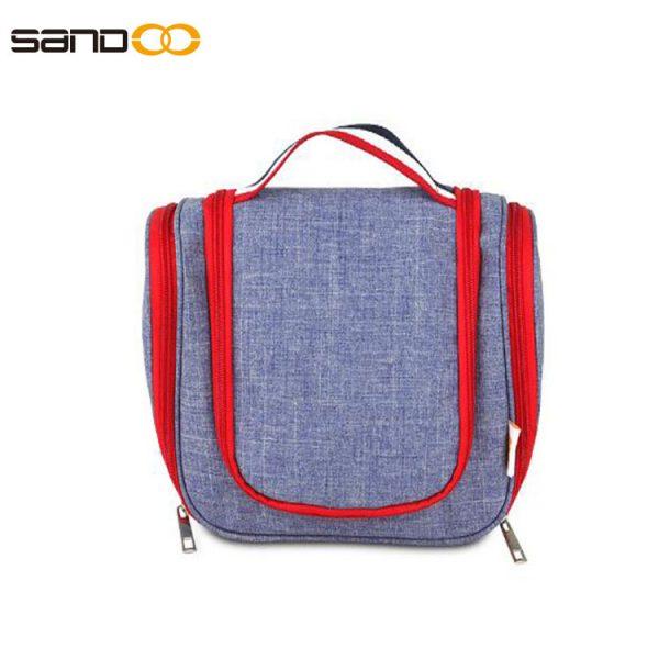 Free sample travel toiletry bag