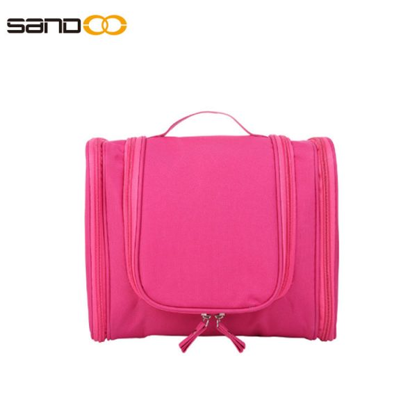 Large capacity toiletry bag for unisex