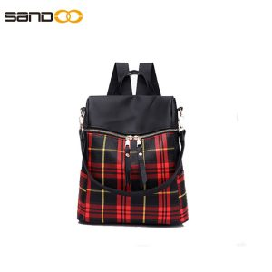 Wholesale lady backpack made from waterproof material