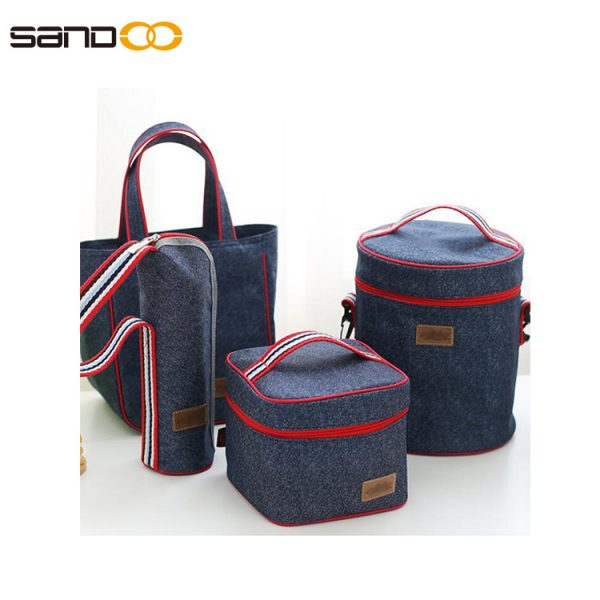 New customizable Oxford bag Children's lunch bag small lunch box