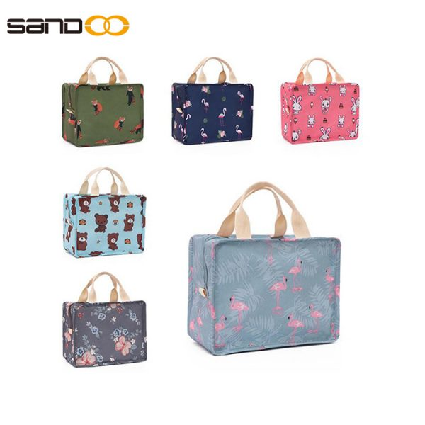 student handcuffs lunch bag multi-function insulation package ice pack