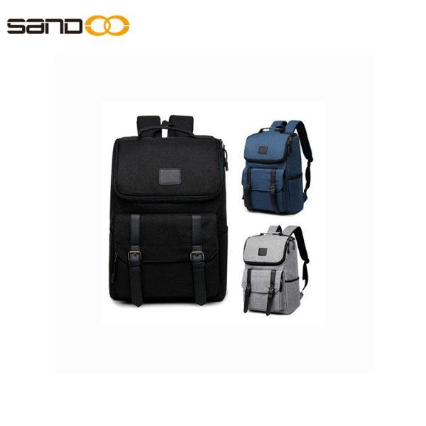 Wholesale Korean School Computer Bag Student Backpack Oxford Cloth
