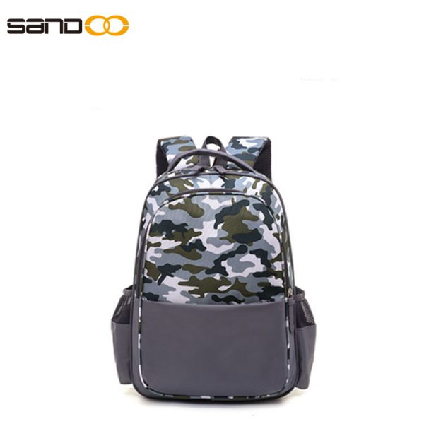Camouflage design fashion backpack for students