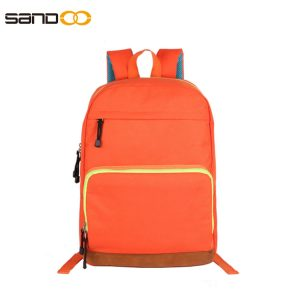 Simple design light weight backpack for students