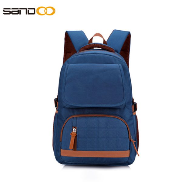 British style school backpack for students
