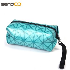 Wholesale fashion design PU makeup bag