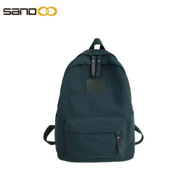 Lightweight Backpack for School, Classic Basic Water Resistant Casual Daypack for Travel with side pockets