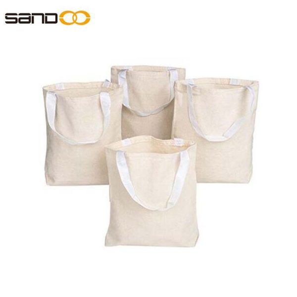 Natural Canvas Tote Bag Canvas Craft Bags Canvas Grocery bags