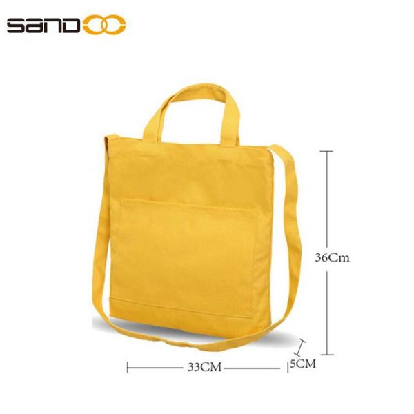 Reusable Large Canvas Tote Bags Canvas Bags Use for Grocery Bags,Book Bags,Shopping Bags
