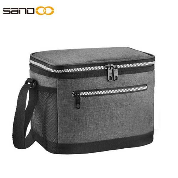 Large capacity for 15 cans Insulated Lunch Bag , Leakproof Cooler Food Organize