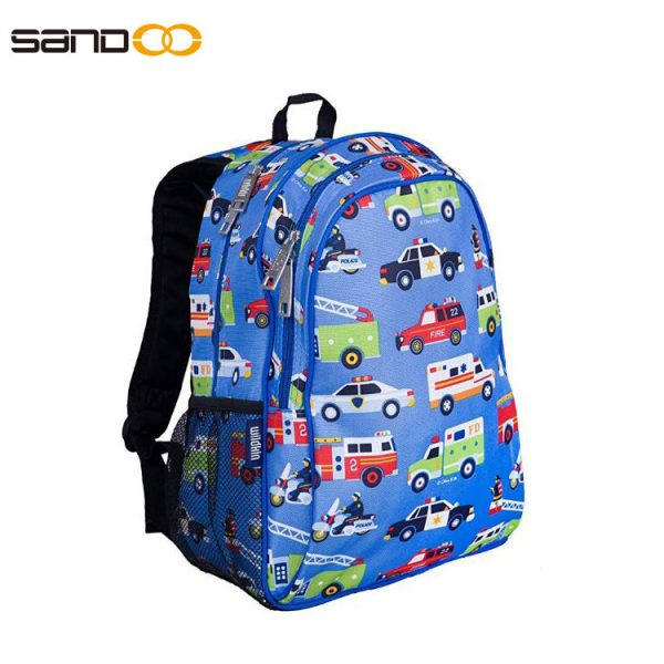 Carton car Backpack for Boys and Girls, school laptop backpack for student