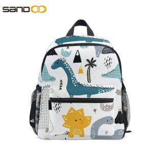 Cute Kids Toddler Backpack, carton dinosaur Style Children Bag