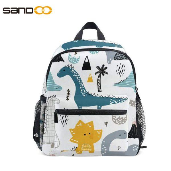 Cute Kids Toddler Backpack, carton dinosaur Style Children Bag