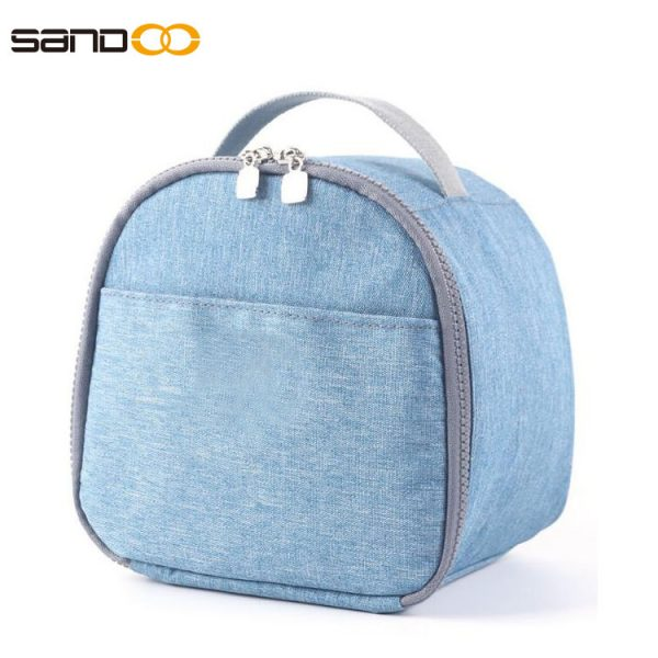 Lunch Bag for Women Reusable Insulated Lunch Box Double Zippers Wide Open Lunch Cooler Container Bag Durable Leak proof Picnic Bags for Men Work School Outdoor